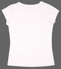 Women's shirt isolated on white background