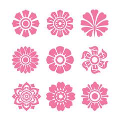 decoarative flower set