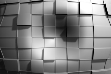 Grey Squares Deformed 03