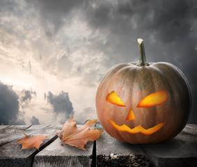 Fierce pumpkin
