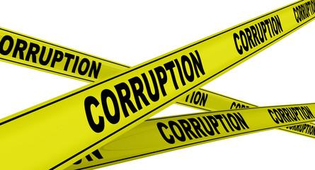 Коррупция (corruption). Желтая оградительная лента