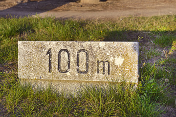 100 metri