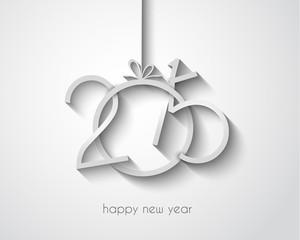 Original 2015 happy new year modern background
