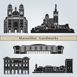 Marseilles landmarks and monuments