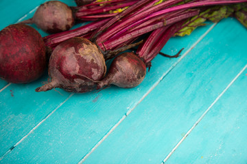 beetroot on table