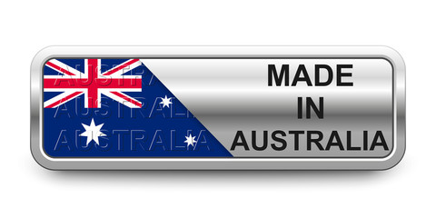 Made in Australia Button