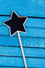 star shaped blackboard