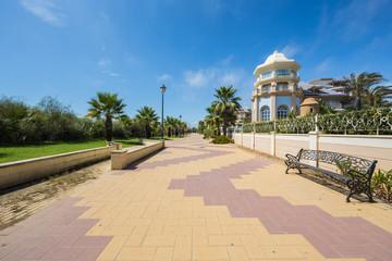 Promenade at Punta De Moral, Ayamonte, Spain