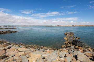 Isla Cristina from Punta De Moral, Ayamonte, Spain