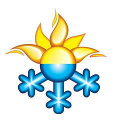 Icon of seasons