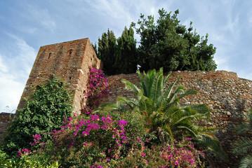 Alcazaba y jardines, Málaga, Andalucía