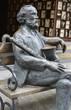 canvas print picture - Adolphe Sax Skulptur Dinant