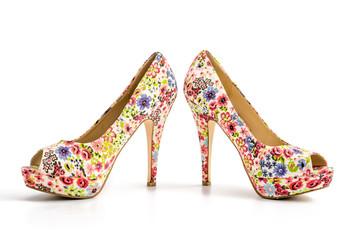 Bunte High Heels