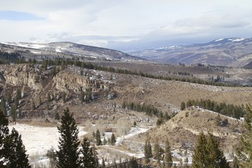 Vail colorado Winter Landscapes