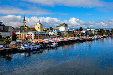 Valdivia by the river, Chile