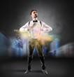 Leinwandbild Motiv Creative business