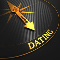 Dating - Golden Compass Needle.
