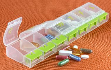 Pill Box and Pills