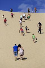 persone sulla duna