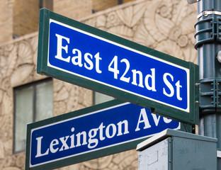 Lexington Avenue 42nd st