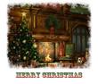 Christmas Eve Card, 3d CG