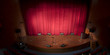 Theater stage and red curtain - 70009532