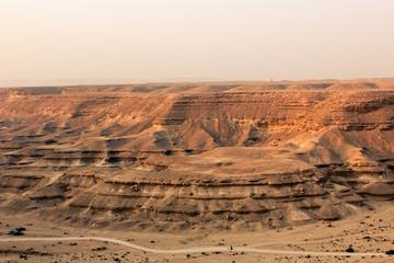 The Desert ElRayan Valley/ Sahara in Egypt
