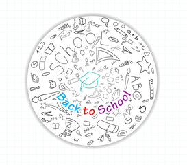 Back to school global icons