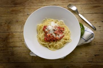 Pasta alla salumiera Cucina italiana Lutuing Italyano Expo 2015