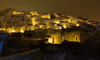 Tetuan at night, Morocco