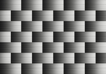 Pattern of aluminum