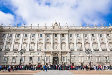 スペイン マドリード 王宮