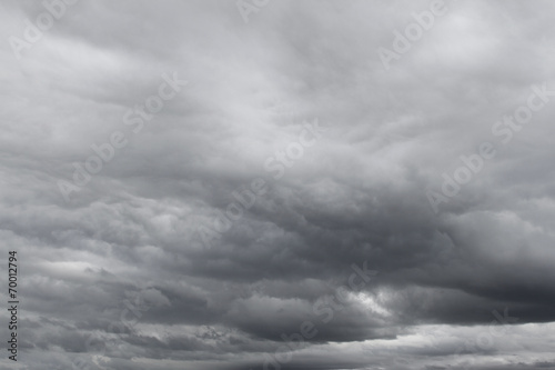 canvas print picture Dramatic sky