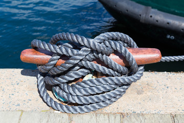 Docking Rope Closeup