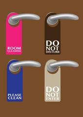 Door Hanger with messages