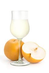 梨とジュース
