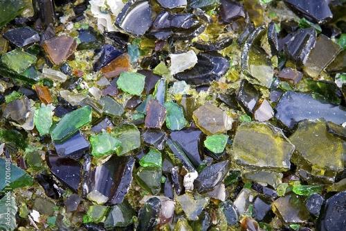 Fototapeta Bits of Glass
