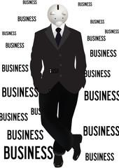 uomo in affari