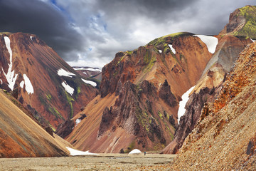 The famous Valley Landmannalaugar
