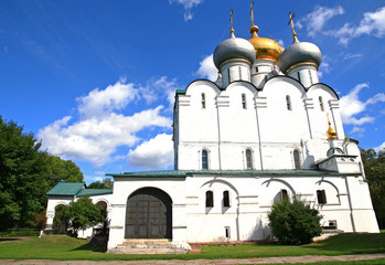 Russia, Moscow. Smolensk Cathedral of the Novodevichy convent.