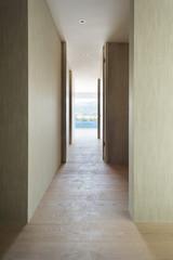 Interior, modern building, corridor