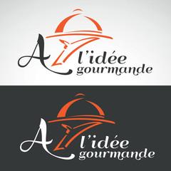 restaurant restauration brasserie gourmand logo