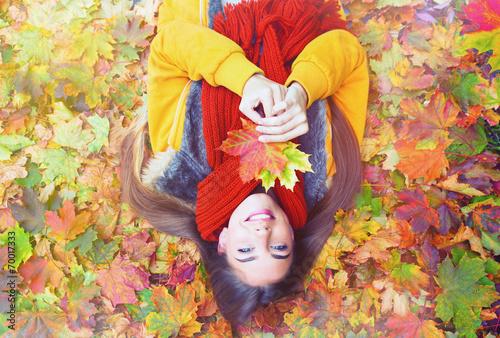 canvas print picture autumn beauty leaving leaf 2