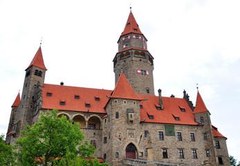 Old Castle bouzov, Moravia, Czech Republic, Europe