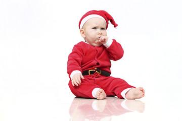 Weihnachtsmann Baby 5