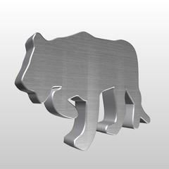 Logo 3D tigre