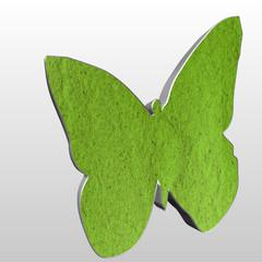 Logo 3D farfalla