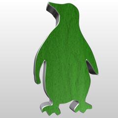 Logo 3D pinguino
