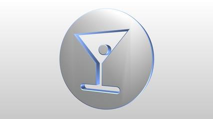 Logo 3D drink