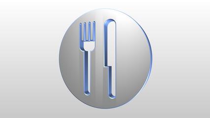 Logo 3D ristorante